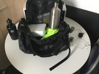 Mijn sport tas...